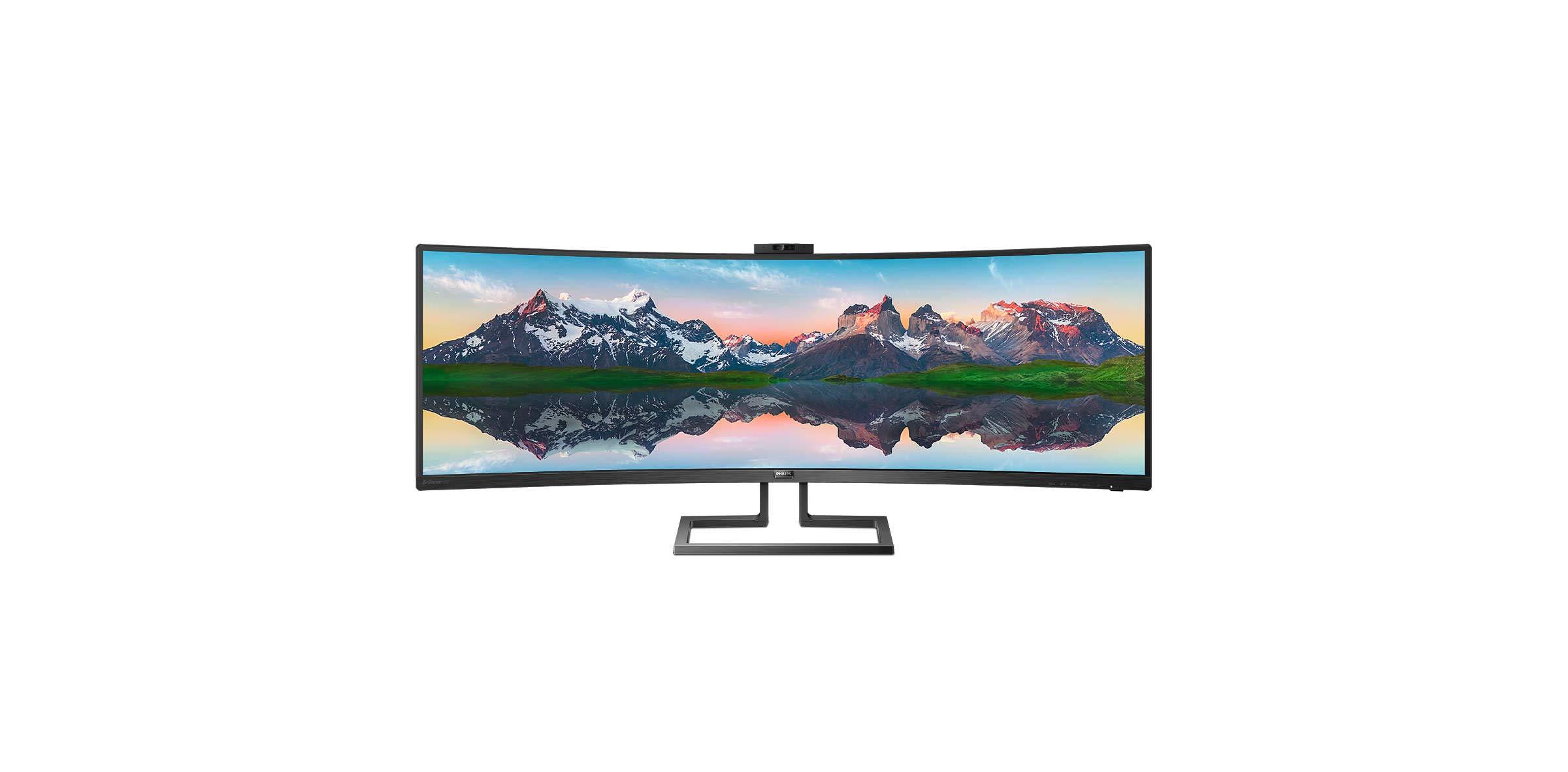 Philips 439P9H/00 - Monitor Curvo de 43