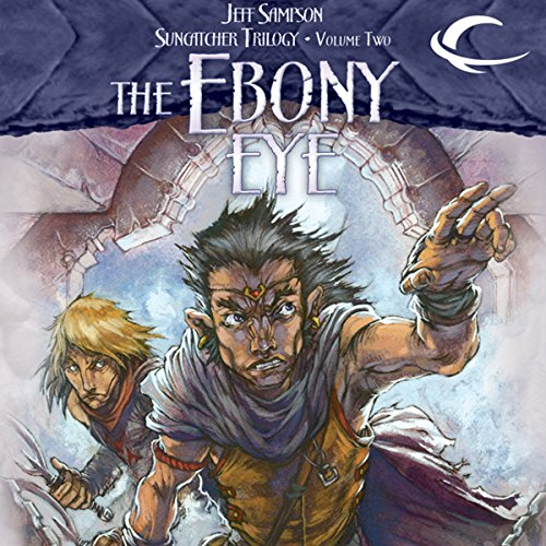 The Ebony Eye audiobook cover art