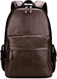 Best mens leather backpack cheap Reviews