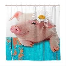 Hanging Asciugamano Asciugamani In Microfibra Corallo Del Panno A Mano Con Un Comodo Gancio Sveglio Del Maiale Del Fumetto Canovacci