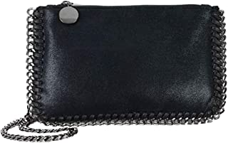 LABANCA Womens Big Totes Shoulder Bag with Chain Faxu Leather Handbags Purse