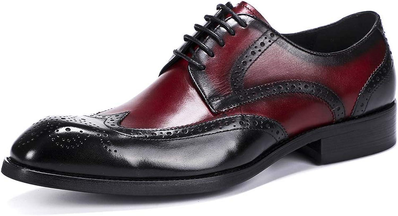Men's Oxford shoes Men's Brock Carved Business Dress shoes