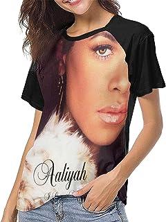 FEI SA Women's Aaliyah I Care 4 U Short Sleeve Raglan Baseball T Shirts Black