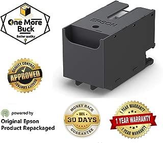 Epson T6715 Ink Maintenance Box Repackaged by OneMoreBuck for Epson Workforce Pro WF 4720, WF 4730, WF 4734, WF 4740, EC 4020, EC 4030, EC 4040, WF C5210, WF C5290, WF C5710, WF C5790