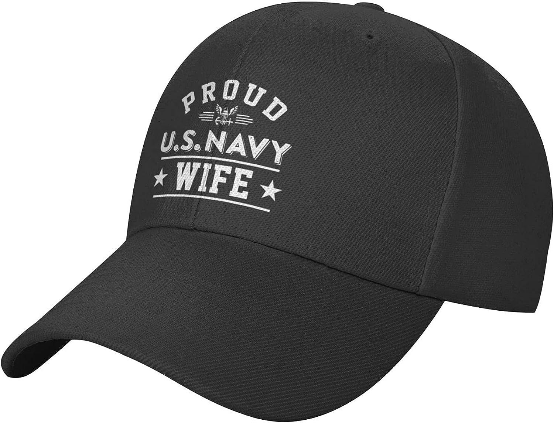 Us Navy Veteran Hat Baseball Cap, Classic Adjustable Trucker Hat, Dad Hat Sun Hat for Men Women Black