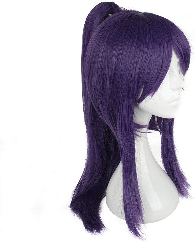 Funytine Cosplay Perücke japanische Samurai Kleidung mit Perücke Cosplay Perücke lila Pony lange Haare für Souma Kanzaki (Farbe   lila) B07NWBJ7DG Ausgezeichnete Leistung    | Öffnen Sie das Interesse und die Innovation Ihres Kindes, a