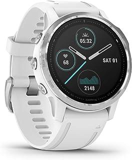 Garmin fenix 6S – slank GPS-multisport-smartklocka med sportappar, 1,2 tum display och pulsmätning på handleden. Berätta f...