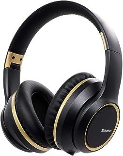 【Amazon限定ブランド】 ノイズキャンセリング ヘッドホン Bluetooth 5.0 ワイヤレス ヘッドフォン オーバーイヤー マイク付き 密閉型 折りたたみ式 ブルートゥース ヘッドホン ブラック Srhythm