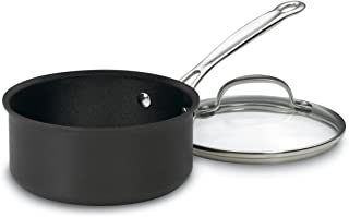 Cuisinart Chef's Classic Nonstick Hard-Anodized 1-1/2-Quart Saucepan with Lid
