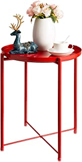 Best red metal end table Reviews