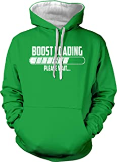 Boost Loading Please Wait - Racing Turbo Unisex Hoodie Sweatshirt