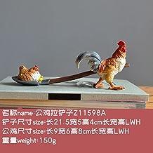 YAOHEHUA Sculpturen voor huis Creatieve Leuke Vogel Dier Bloempot Gepersonaliseerde Bloem Imitatie Steengoed Sappige Hars ...