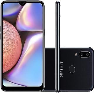 "Smartphone Samsung Galaxy A10s 32GB Dual Chip Android 9.0 Tela 6.2"" Octa-Core 4G Câmera 13MP+2MP - Preto"
