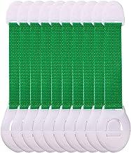 Yousiju 10 stks Lade Deurkast Toiletveiligheid Sloten Veiligheidszorg Plastic Sloten Bandsbescherming Kast Locks (Color : ...
