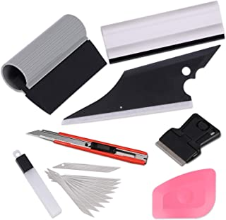 Ehdis 6 in 1 Car Window Tint Tools Kit for Auto Film Tinting Squeegee Scraper Application Installation Set