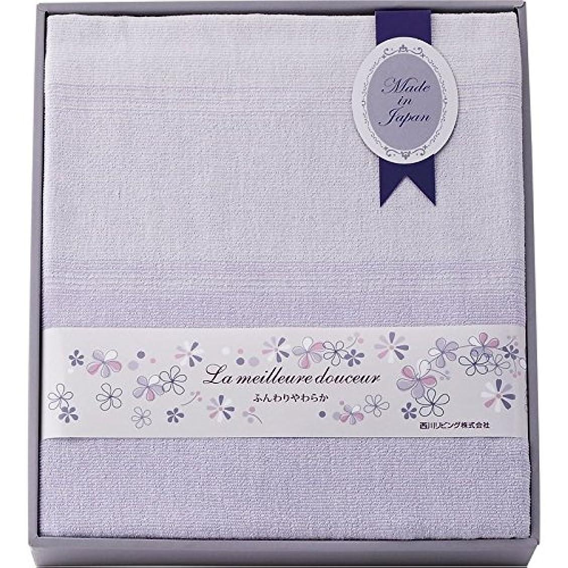 シャンプー巻き取り影のある西川リビング 日本製タオルシーツ 2241-00008