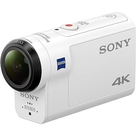 ソニー ウエアラブルカメラ アクションカム 4K+空間光学ブレ補正搭載モデル(FDR-X3000)