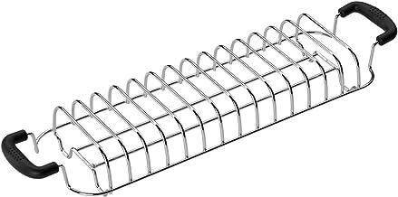 SMEG Broodjesroosteropzetstuk TSBW02, metaal, chroom/zwart, klein