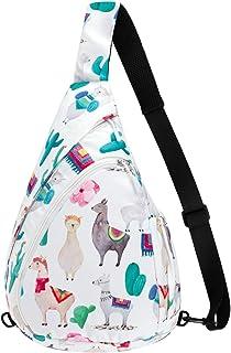 حقيبة كتف إنترلايف متعددة الأغراض مقاومة للماء حقيبة ظهر كروسبودي حقيبة كتف يومية كاجوال للسفر والمشي لمسافات طويلة على الصدر