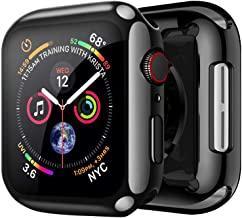 FOOKANN Screen Protector Cover Soft Case for Apple Watch 44mm 40mm Series 5 Series 4 (44mm)