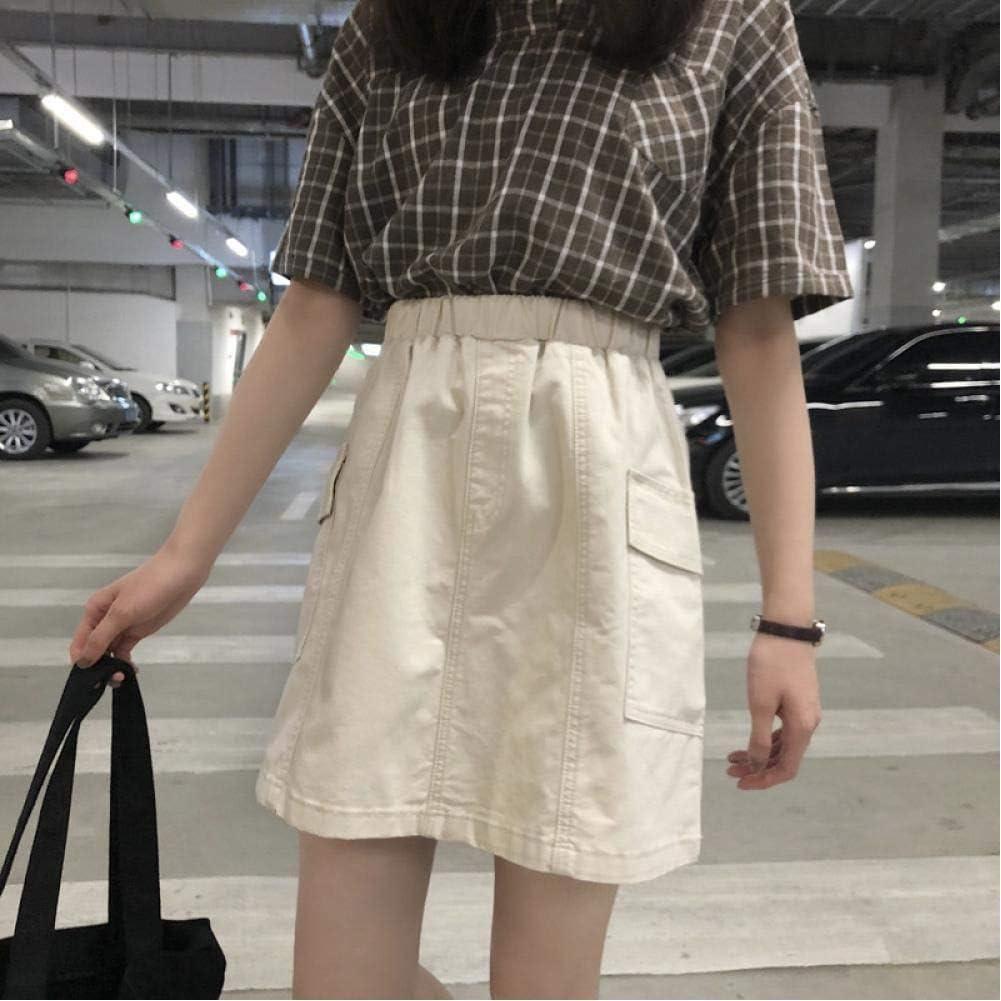 HUJINGLS Casual Slim A-Line Bag Hip Skirt
