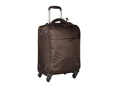 Lipault Paris Original Plume 22 Spinner Carry On (Anthracite Grey) Carry on Luggage