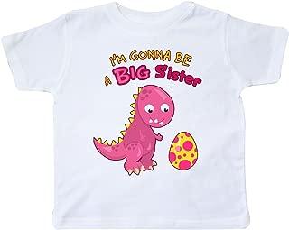 Dinosaur Future Big Sister Toddler T-Shirt