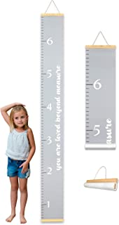 Adorable Kids Growth Chart by Morxy | Super Cute Children's Reusable Height Chart | Easy to Install Personalized Toddler D...