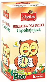 Apotheke Organic Tea for Children - Calming - 20 Tea Bags