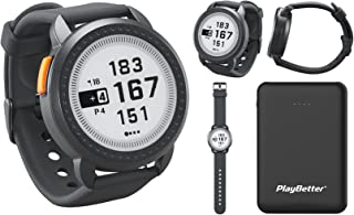 $159 » Bushnell ION Edge (Black) GPS Golf Watch Power Bundle | with PlayBetter Portable Charger | Touchscreen, Auto-Course Recogn...