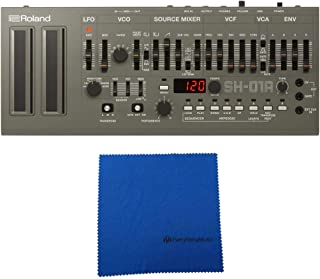 Roland SH-01A Boutique Series 4-voice Synthesizer Module with Microfiber