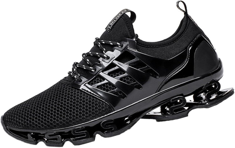 97d65b70cde3c ASJUNQ Casual Sports Student Running shoes,Black-44EU shoes Men's ...
