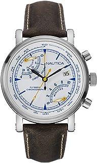 Nautica Mens Nautica Fly-Back Chronograph Analog sport Quartz NAI17505G