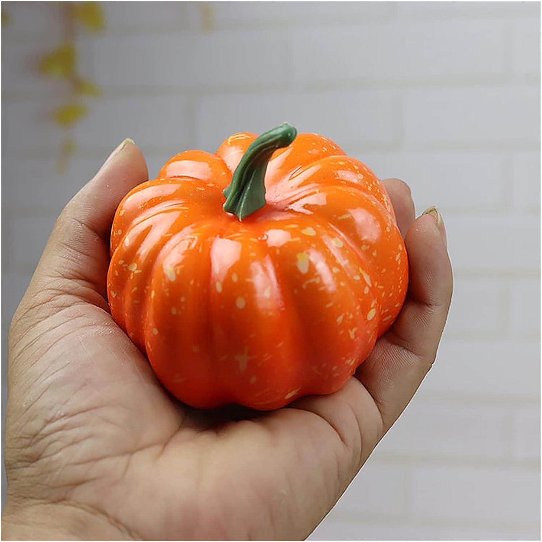 High order JSJJEDC Artificial Fruit Simulation Pumpkin Max 76% OFF Vegetables Art Model