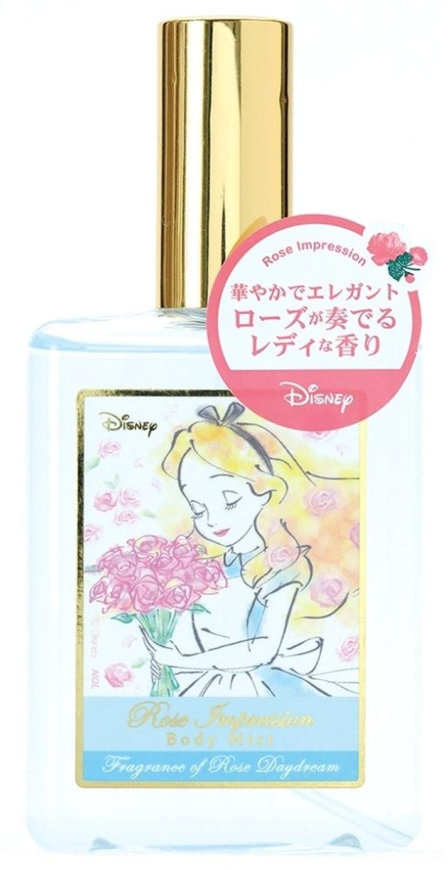 山岳安西是正するディズニー ボディミスト アリス ローズインプレッション ローズデイドリームの香り 75ml DIT-11-02