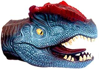 Guantes animales de simulaci/ón en forma de mano animal de juguete para ni/ños juguetes marionetas de mano del juego del papel de Tipo de apoyos Tyrannosaurus cabeza 1pc