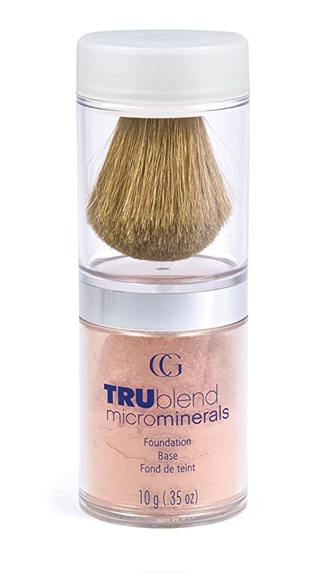 不快な襟試してみるCOVERGIRL TRUBLEND MICROMINERALS FOUNDATION BASE #440 NATURAL BEIGE