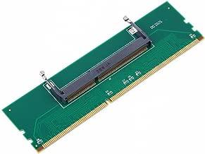 Semoic DDR3 Laptop SO-DIMM to Desktop DIMM Memory RAM Connector Adapter DDR3 New Adapter of Laptop Internal Memory to Desktop RAM