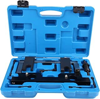 Qiilu Cam Camshaft Timing Locking Master Tool is Compatible with BMW N20 N26 Engines Cam Camshaft Alignment Timing Locking Tool Come with 1 Chain Tensioner 1 Camshaft Locking Tool 1 Carry Case