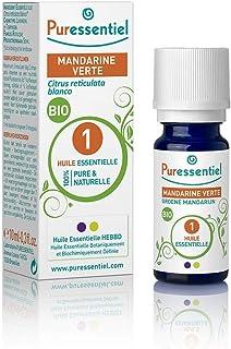 Puressentiel - Huile Essentielle Mandarine Verte - Bio - 100% pure et naturelle - HEBBD - 5 ml