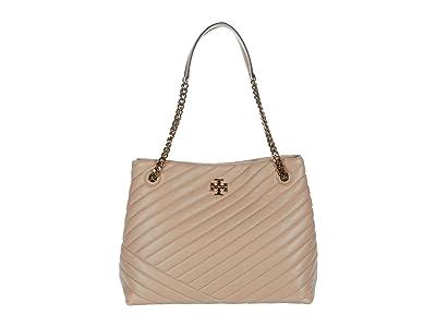 Tory Burch Kira Chevron Tote (Devon Sand) Handbags