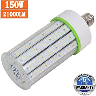150W E39 Large Mogul Base led bulb, Led Corn Cob Light Bulb, (600-800W MH/HPS Replace) Indoor Outdoor Lighting for Garage Warehouse High Bay Parking Lot Wall Pack