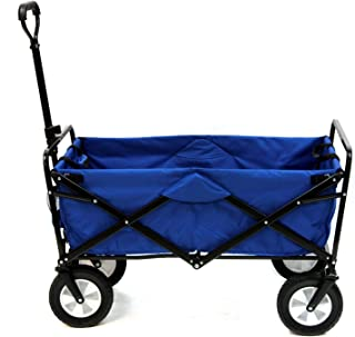 Mac Sports WTC-111 Outdoor Utility Wagon, Solid Blue