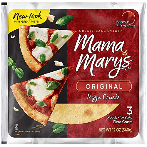 Mama Mary's 7' Pizza Crust, Traditional, 12 Ounce