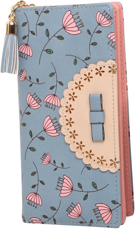 90f8c145c55de Damen Geldb ouml rse Lange Geldbeutel Geldbeutel Geldbeutel Portemonnaie  Brieftasche (Farbe Wie Gezeigt) B07H3HTC76 a86adf