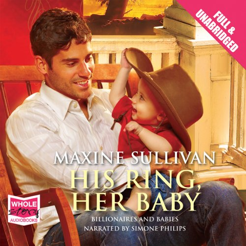 His Ring, Her Baby audiobook cover art