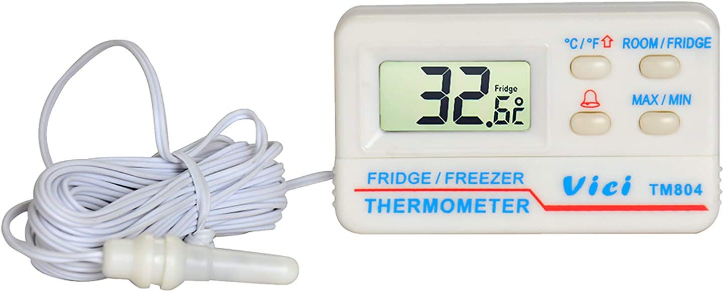 Ranking TOP5 Refrigerator Thermometer Digital TM804 Large special price M Fridge Freezer