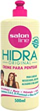 Linha Tratamento (Hidra) Salon Line - Creme Para Pentear 500 Ml - (Salon Line Treatment (Hidra) Collection - Combing Cream 17.64 Fl Oz)