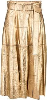 GOLDEN GOOSE Luxury Fashion Womens G35WP012P3 Gold Skirt | Fall Winter 19