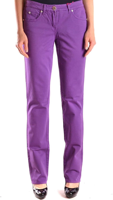bluegirl Women's MCBI24608 Purple Cotton Jeans